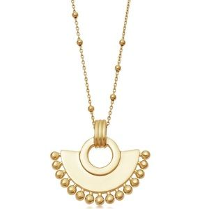 Missoma Gold Zenyu Fan Necklace